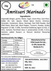 Punjabi Savory Amratsary Marinade, Packaging Size: 1 Kg Evoh Pouch, Punjabi Flavour