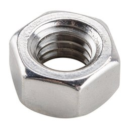 Mild Steel Hexagonal Nut, Shape: Hex