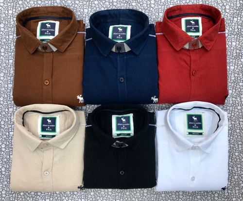 046be9d14 Formal And Party Wear Plain And Printed Branded Casual Shirts, Size: Medium  And XL