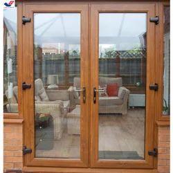 Brown UPVC Casement Doors