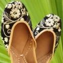 Golden Flower Jutti