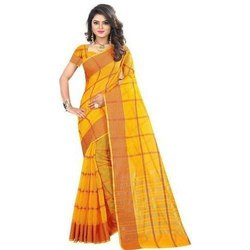 Kanchipuram Cotton Saree