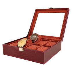 08 Red Wine Watch Box