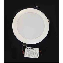 Philips Aluminium 10W LED Panel Light, Shape: Round