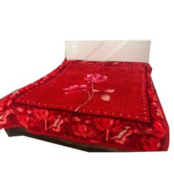 Gullivar Red Printed Blanket