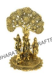Golden Plated Ramdarbar Tree