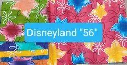 Disneyland ''''56'''' Printed Cotton Fabric