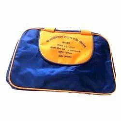 Blue Matty Luggage Bag, Size/Dimension: 16 X 13 Inch
