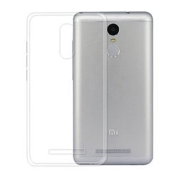 Transparent Redmi Note 3 Perfect Fitting High Quality 0.3mm Ultra Thin Silicon Back Cover For Xiaomi