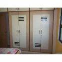 4 Doors Modern Wooden And Sunmica Wardrobe