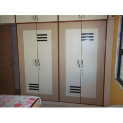 4 Doors Modern Wooden and Sunmica Wardrobe