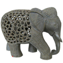 Soapstone Carving Elephant Sculpture