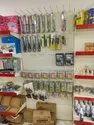 Stationary display racks