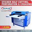 Paper Sticker Half Cutting Machine