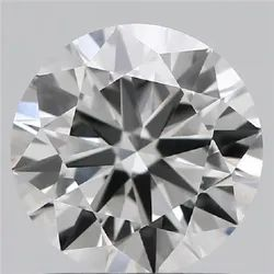 1.00ct Lab Grown Diamond CVD D SI1 Round Brilliant Cut HRD Crtified Type2A