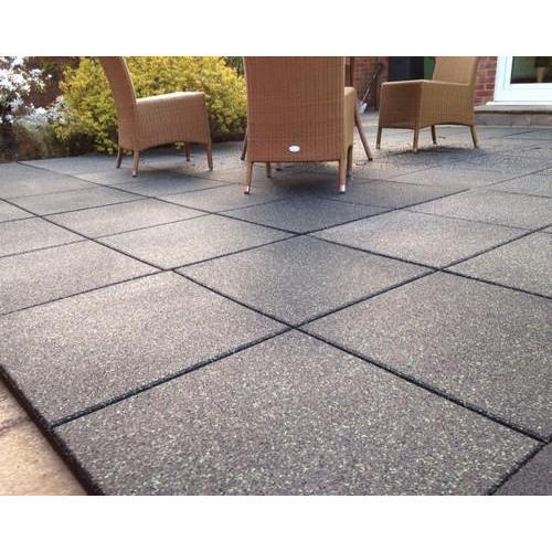 Swastik Rubber Multicolour Outdoor Rubber Flooring Tile