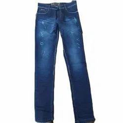 Comfort Fit Plain Men Narrow Fit Jeans, Waist Size: 28 - 40