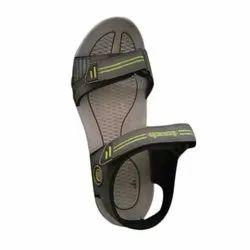 Grey & Black Mens Casual Sandals, Size: 6-8