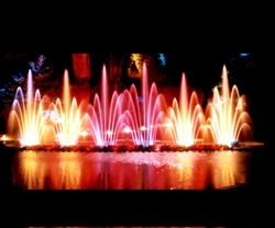 Dancing Water Fountains