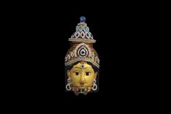 Devi Decorated Face 8 inches