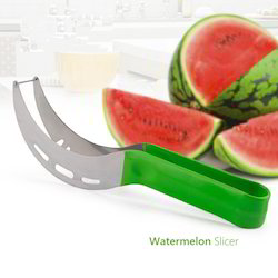 Watermelon Slicer Stainless Steel Knife Fruit Dig Corer