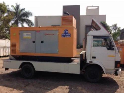 Soundproof Mobile Generator Van Rental Service in Sinhagad