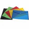 Florescent Color Thick Document File Folder