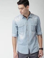 Casual Full Sleeves Men Shirts