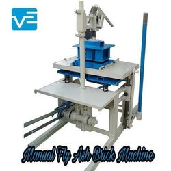 MS Manual Fly Ash Brick Making Machine