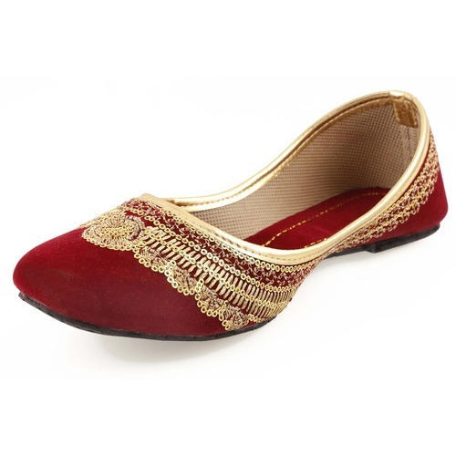fcb738a873d60 Party Wear Ladies Designer Flat Belly, Rs 75 /pair, Nagar & Empire ...