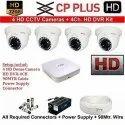 CP Plus 4 Set Security Camera System
