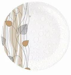 MELAMINE SONATA PLATE Steamy Bubbles D-2107