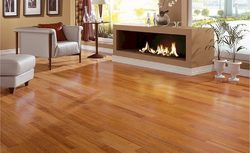 Hardwood Flooring, Thickness: 21 mm