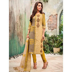 Yellow Cotton Suit