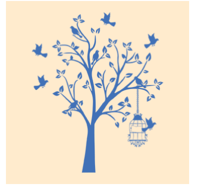 7d4f613acc2 Innovative Bird Tree Wall Decal For Living Room