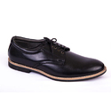 Shubham Black Mens Lace Up Formal Shoes