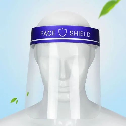 Safety Full Face Mask Hat Protective Face Shield