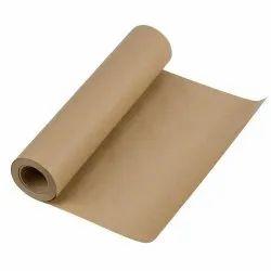 Brown Plain Kraft Paper Roll, Less Than 80 GSM