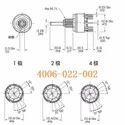 Tosoku Rotary switch MR-A112, MR-K112-015G 12 Position Tosoku
