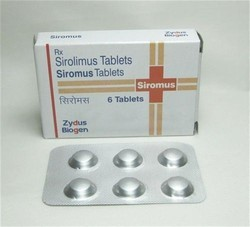 Siromus Sirolimus 1 mg, zydus, Prescription