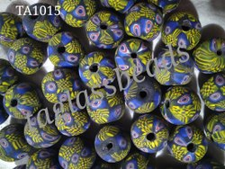 Murano Frosted Glass Beads