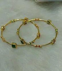 PBCI Brass Golden Bangles