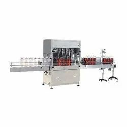 Automatic Edible Oil Filling Machine