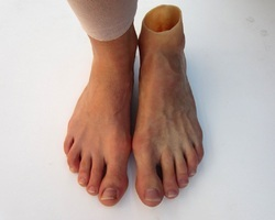 Silicone Foot Prosthesis