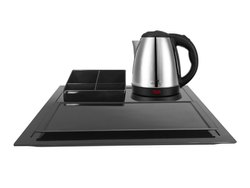 Hotel Electric Kettle with Melamine Tray Set