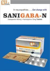 Gabapentin 400mg Nortriptyline 10mg