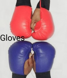 Red and Blue Kick Boxing / Punching / Karate Gloves