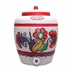 7 Liters Earthen Clay Water Pot