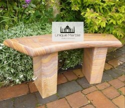 Beautiful Sandstone Bench