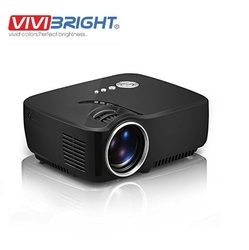 Portable LED Projector 1080P Full HD 1200 Lumens